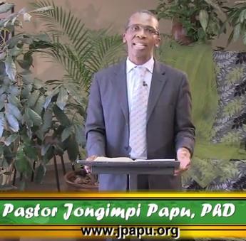 Dr Pastor Jongimpi Papu